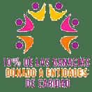 10% donado